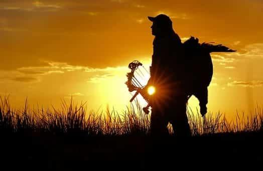 Sunset Bow Hunter Turkey